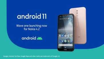 Le Nokia 4.2 reçoit la mise à jour vers Android 11