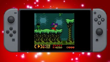 Le Shantae original de Game Boy Color arrive sur Switch ce mois-ci