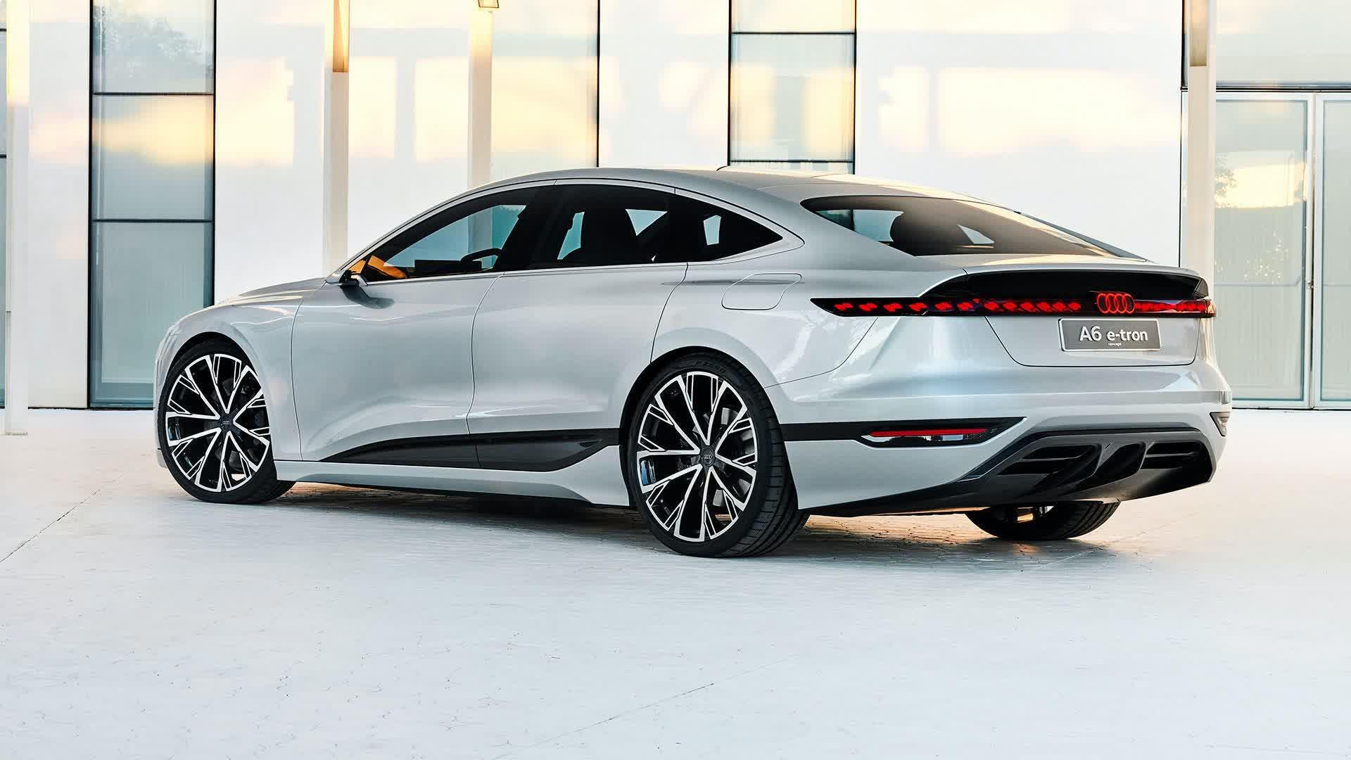 Le concept Audi A6 e tron peut projeter des jeux video