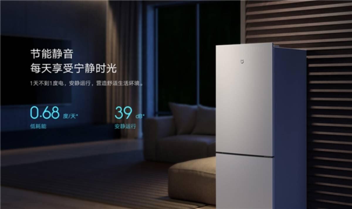 Le réfrigérateur le moins cher de Xiaomi consomme peu d'électricité et fait peu de bruit