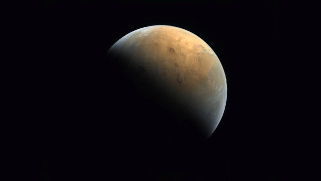 Photo de Mars réalisée par la sonde Hope