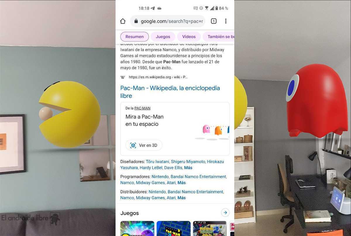Les personnages d'anime et de jeu arrivent dans la réalité augmentée de Google