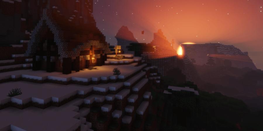 Une capture d'écran d'une carte d'aventure de survie.