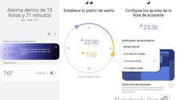 Régler l'heure de veille sur l'horloge Samsung