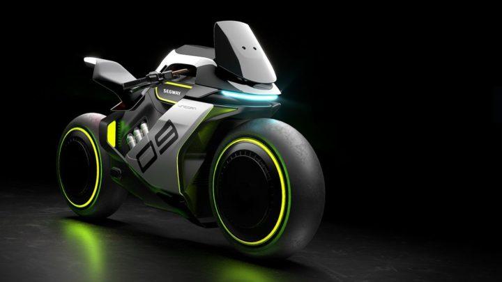 Ninebot présente le Segway Apex H2, la moto à hydrogène la plus futuriste
