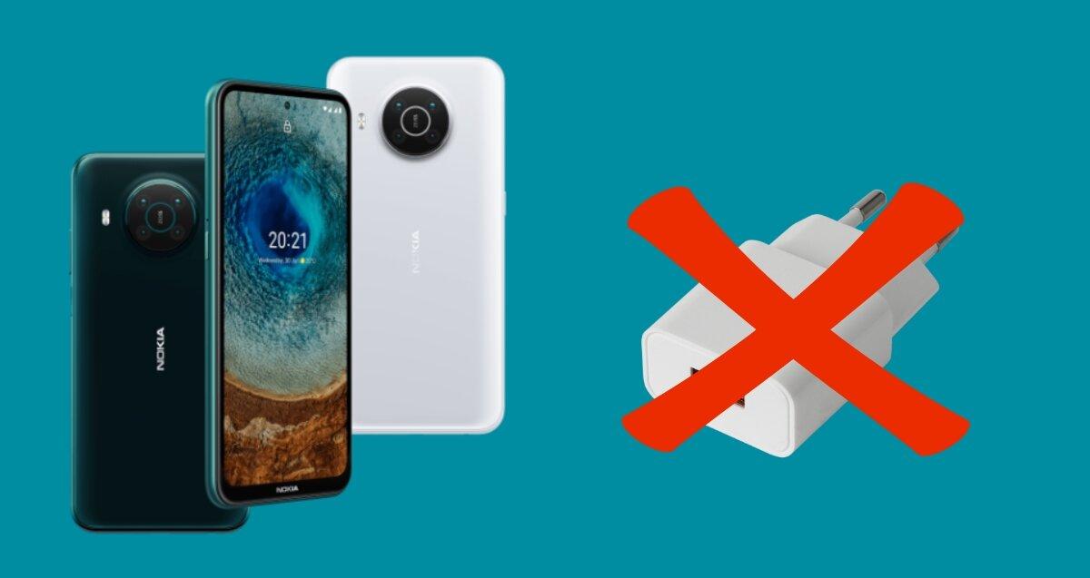 Le Nokia X20 sera livré sans chargeur dans la boîte