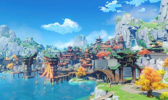 Gameplay officiel de Genshin Impact PS5