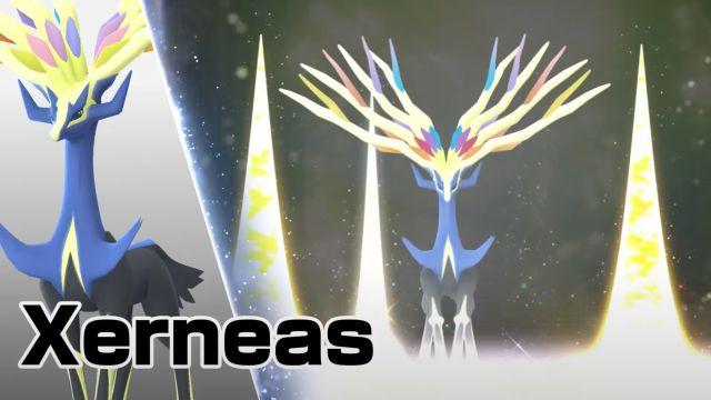 Pokémon GO présente Xerneas et Yveltal