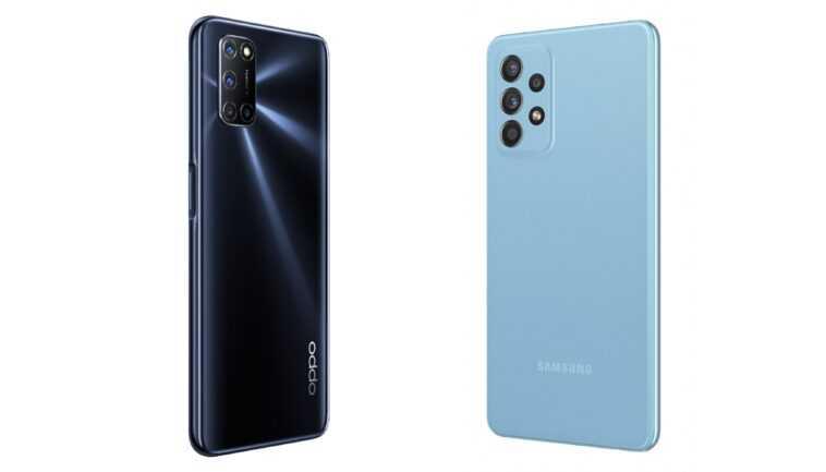 Samsung / Oppo A72 et A52: même nom, même téléphones?