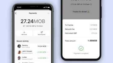 Signal permet déjà d'envoyer des paiements entre utilisateurs à l'aide de crypto-monnaies