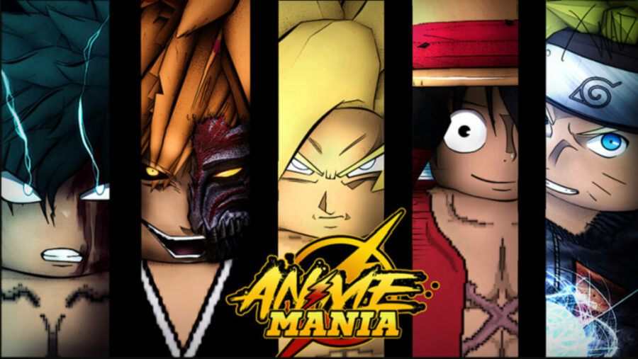 Tous les personnages de Roblox Anime Mania