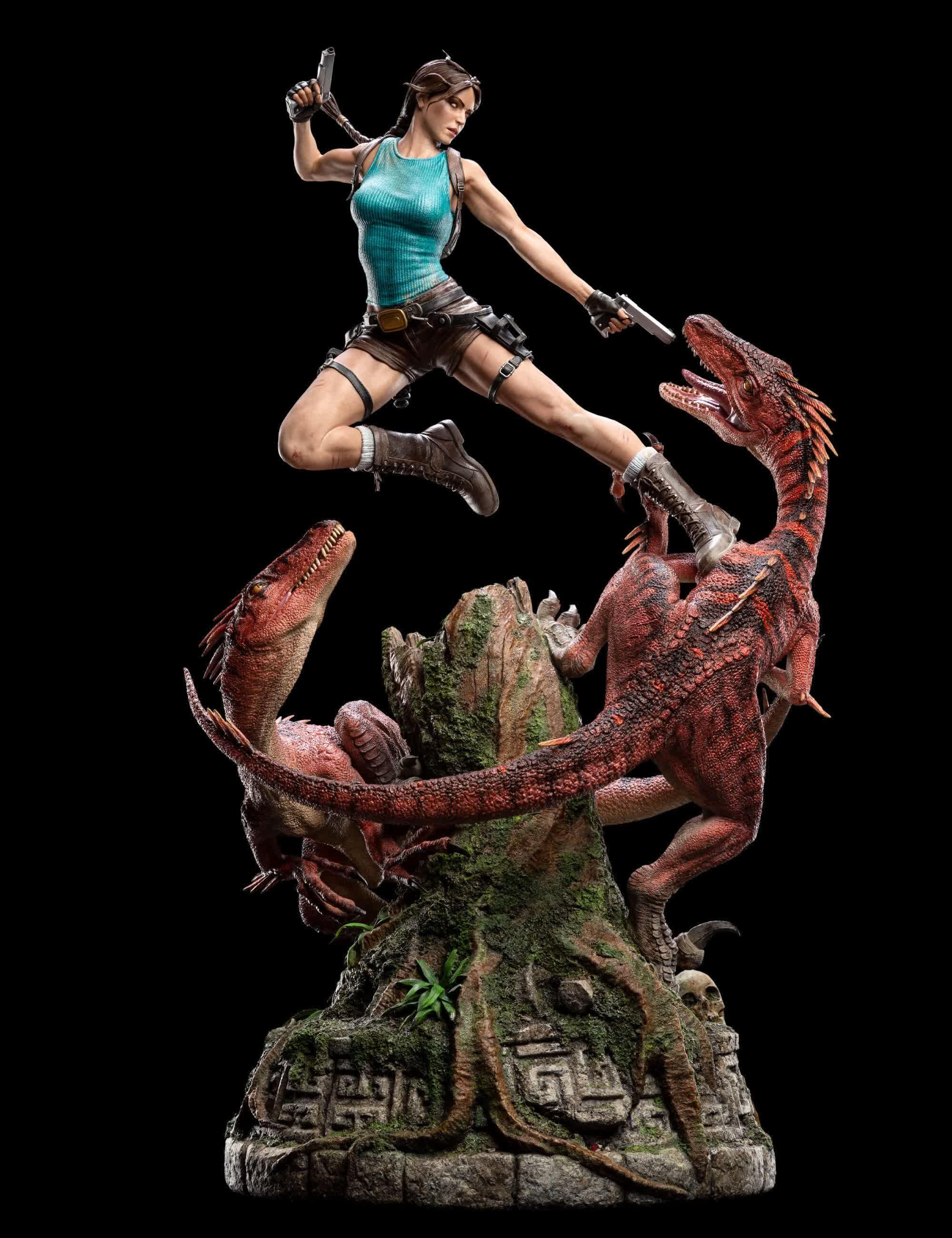 Weta Workshop devoile la figurine de 1500 de Lara