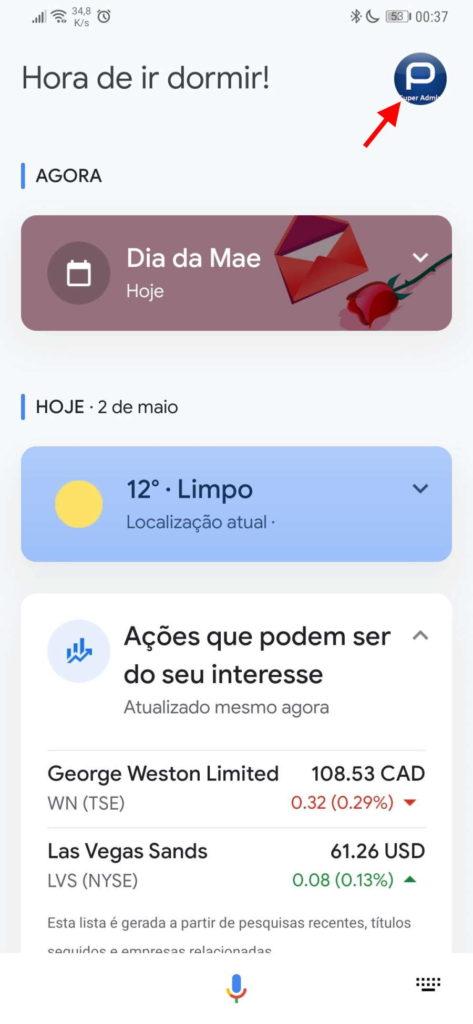 Changement de nom de l'Assistant Google Android