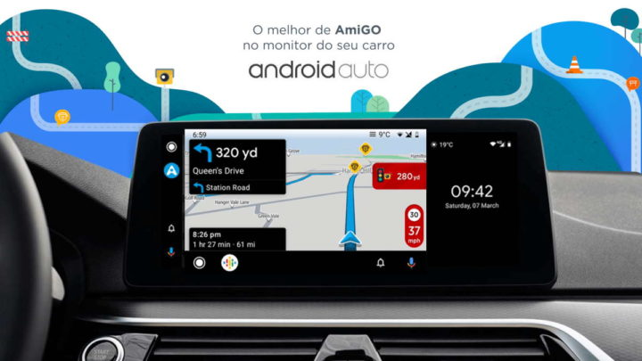 Android Auto Google Maps Drive