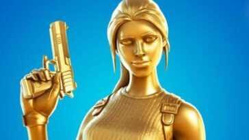 Comment obtenir la nouvelle peau dorée de Lara Croft dans Fortnite