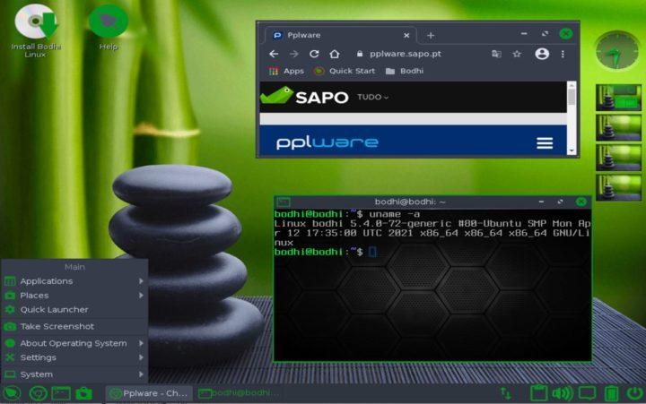 Bodhi Linux 6.0.0: Distro basée sur Ubuntu avec une interface légère