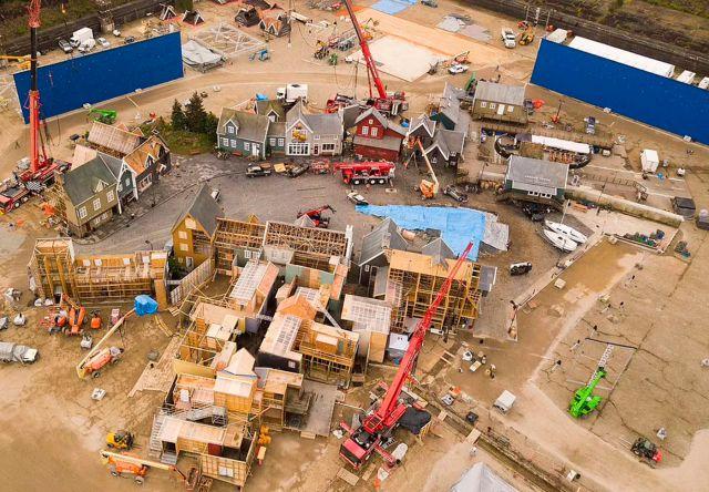 Thor Love and Thunder: voici à quoi ressemble New Asgard dans les nouvelles photos aériennes du plateau de tournage qui ont fui