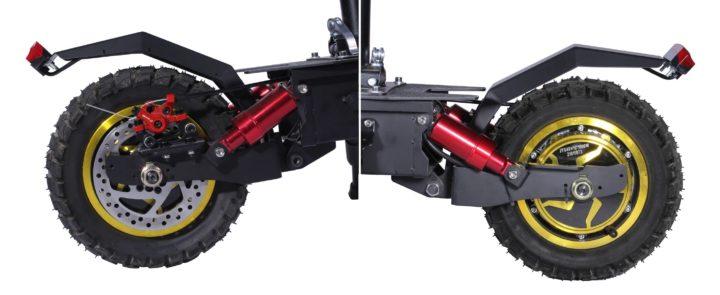 Bezior S1 : trottinette électrique avec siège pour des déplacements plus confortables et durables