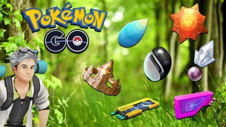 Toutes les pierres et objets évolutifs de Pokémon GO: comment les obtenir et les utilisations