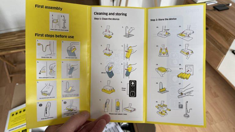 Ensuite, je sais plus ou moins clairement ce que signifie quoi.  Sans connaître l'appareil, cependant, ce guide de démarrage rapide rendra la tâche difficile.