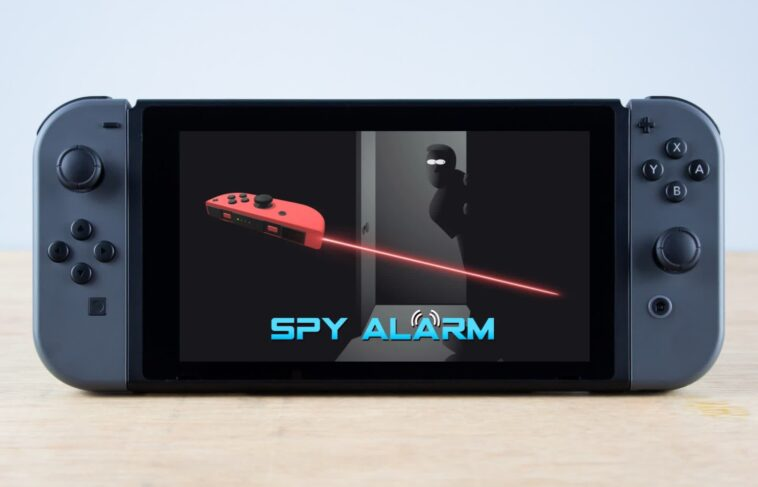 Nintendo Switch app turns the Joy-Con into an infrared tripwire