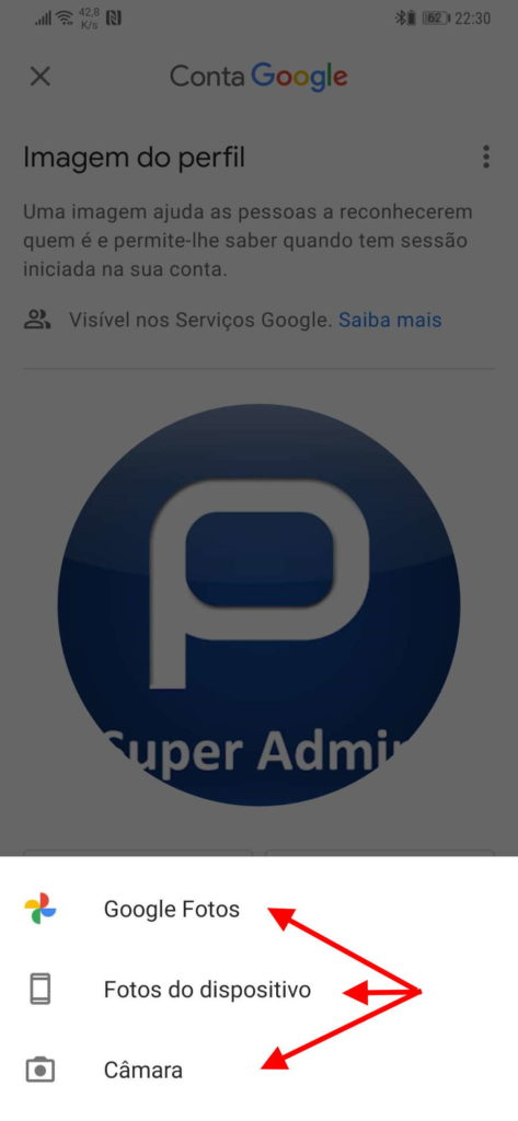 Services d'images Gmail Google Android