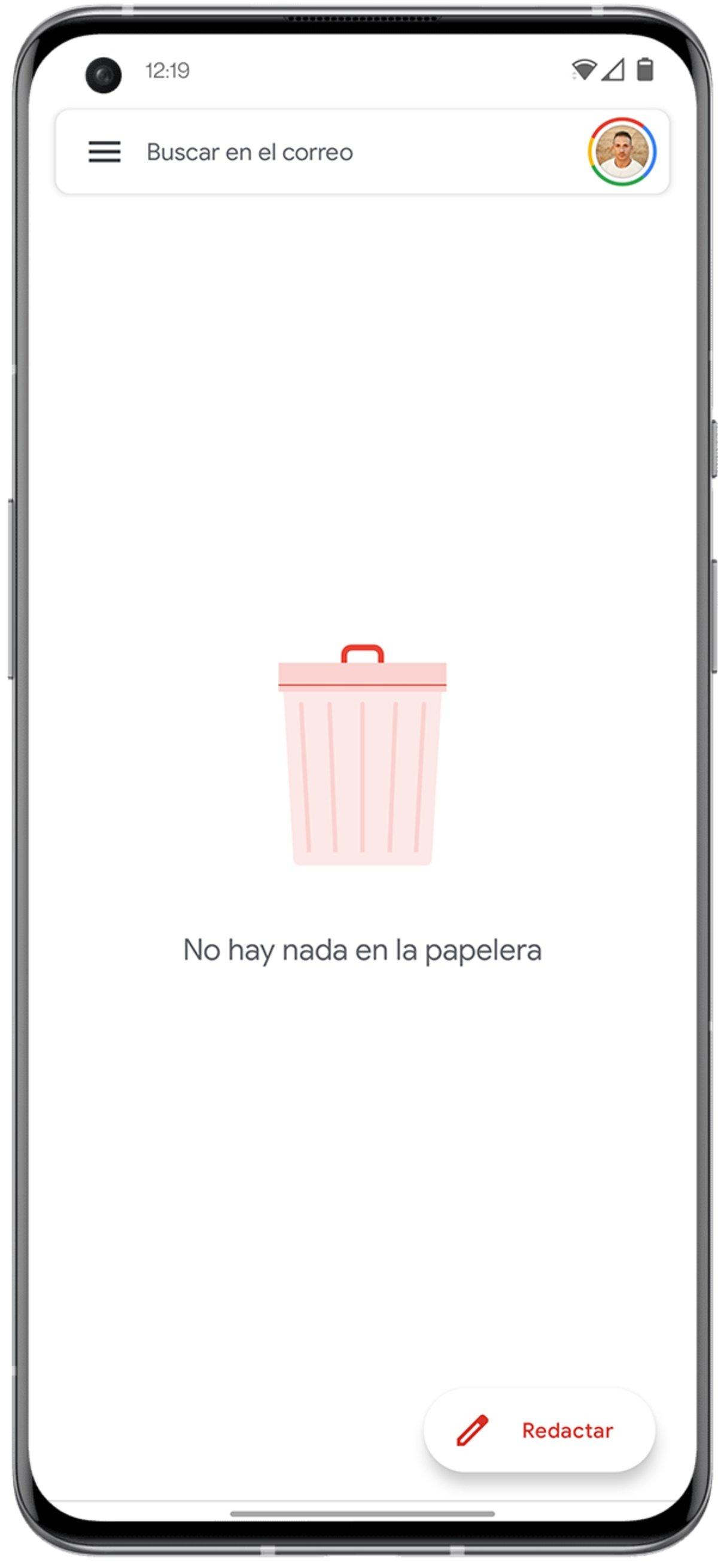 Où est la poubelle sur Android?  Ça n'existe pas, mais ... il y a des alternatives