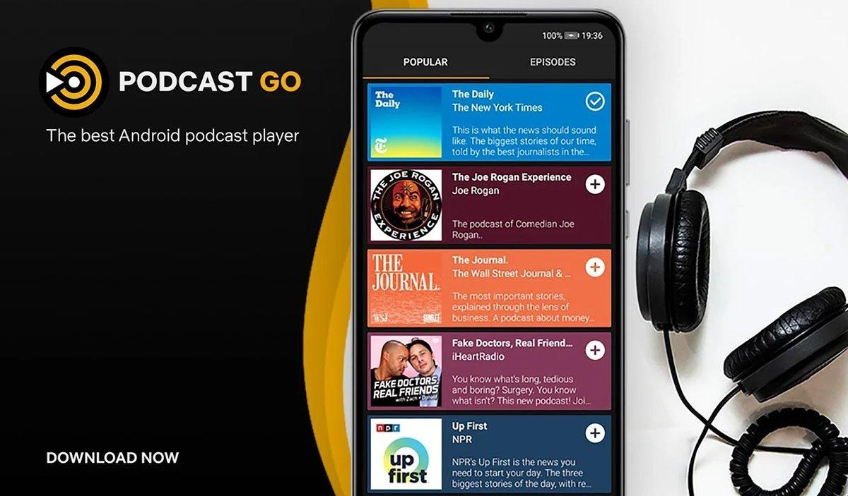 podcast d'application aller