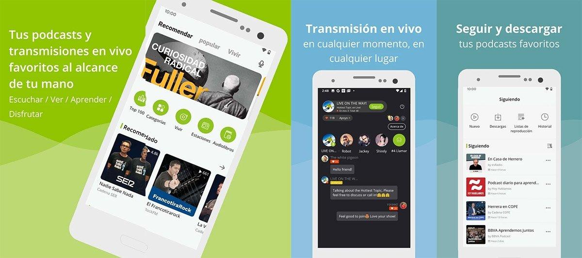 Téléchargez l'application Podbean