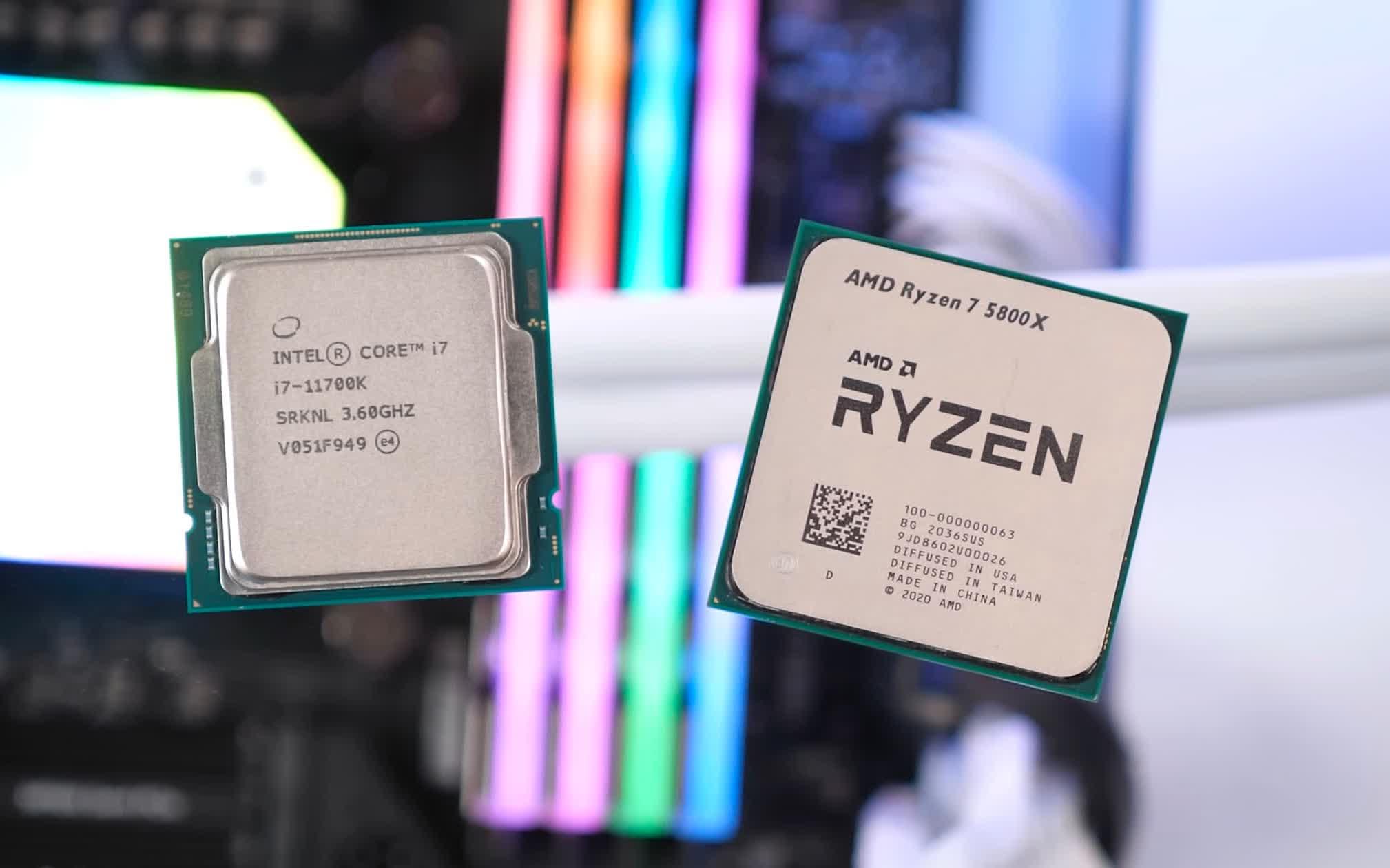 1622461524 705 AMD Ryzen 7 5800X contre Intel Core i7 10700K contre Core