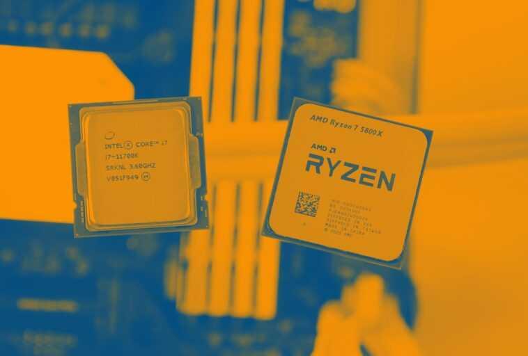 AMD Ryzen 7 5800X contre Intel Core i7-10700K contre Core i7-11700K