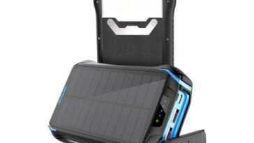 9 bons chargeurs solaires pour recharger votre mobile sans prises