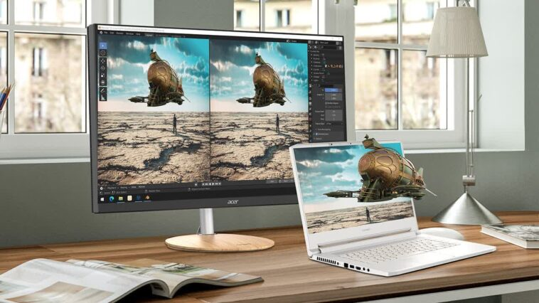 Acer SpatialLabs allows for 3D viewing without glasses on supported laptops