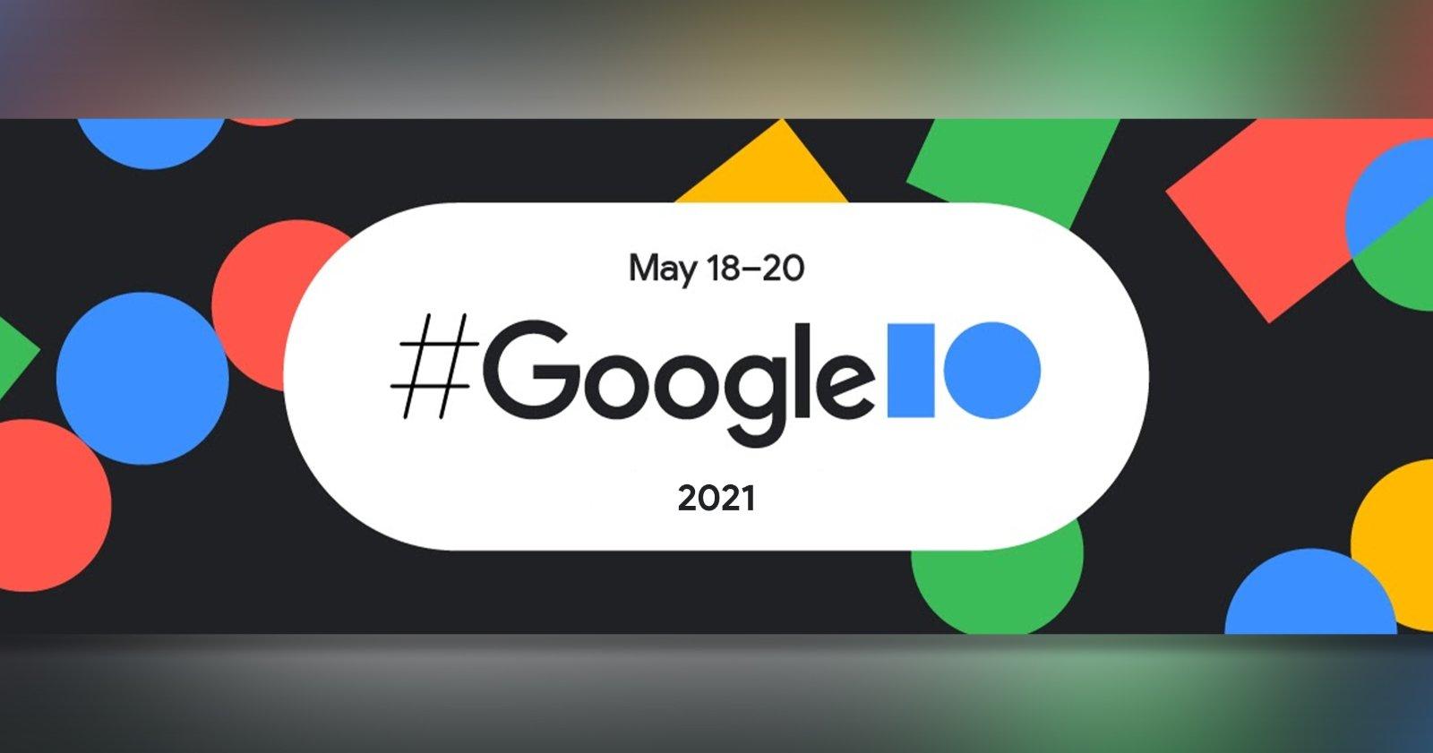 Google IO 2021, affiche officielle