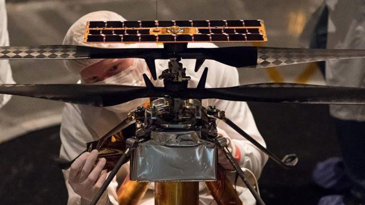 Des problemes dingeniosite de la NASA auraient pu ecraser lhelicoptere