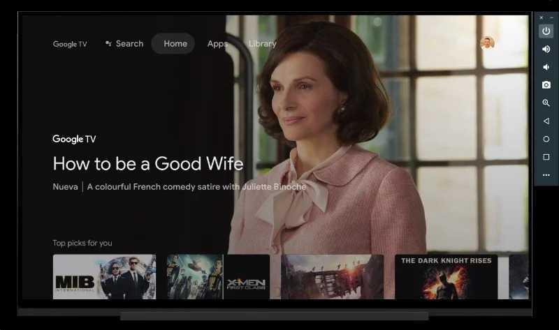 Google Tv Emulation Android