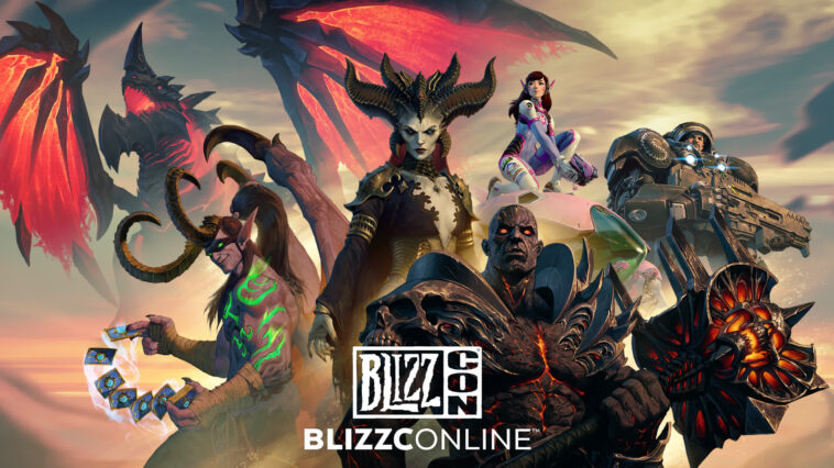 BlizzCon 2021 is canceled, BlizzConline returns early next year