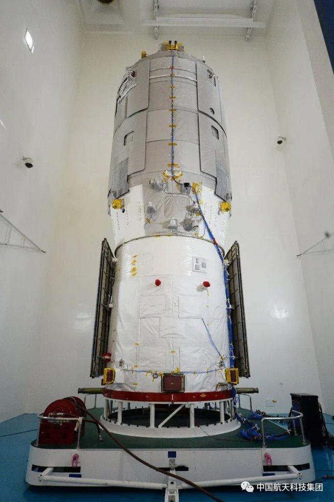 La Chine lance un vaisseau spatial pour alimenter la future