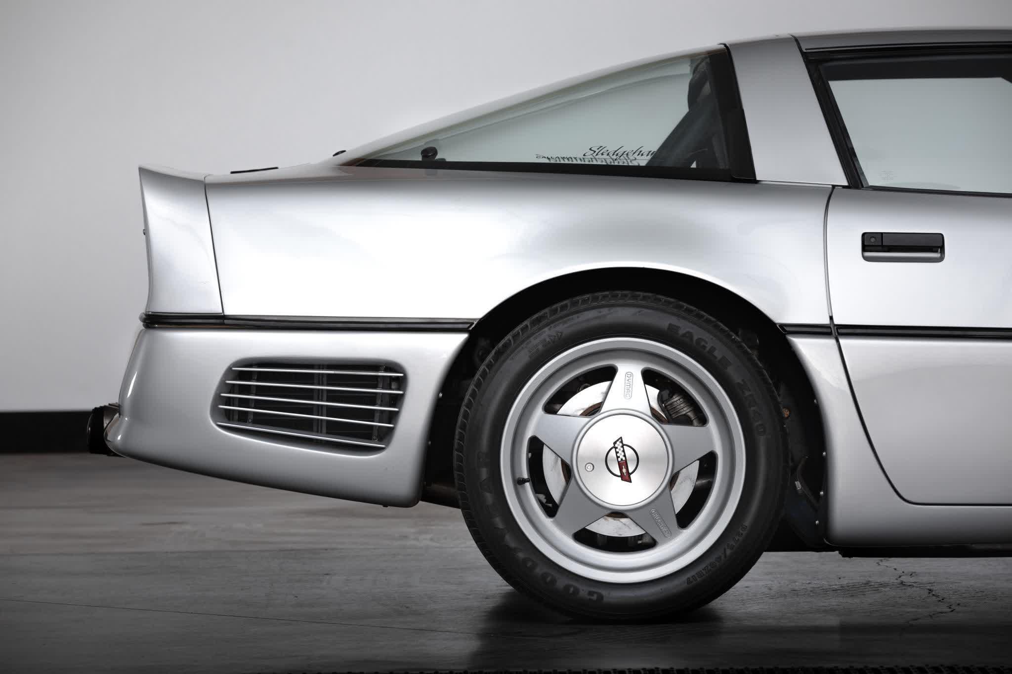 La legendaire Callaway SledgeHammer Corvette est mise aux encheres