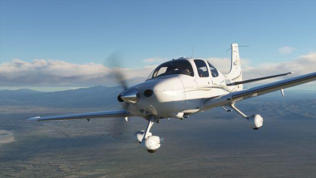 Microsoft Flight Simulator réduit le téléchargement des correctifs
