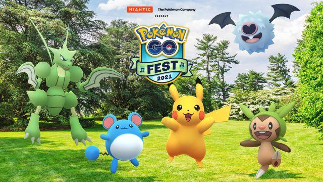 Pokémon GO Festival 2021