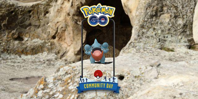 Pokémon GO : Gible, star de la Community Day de juin