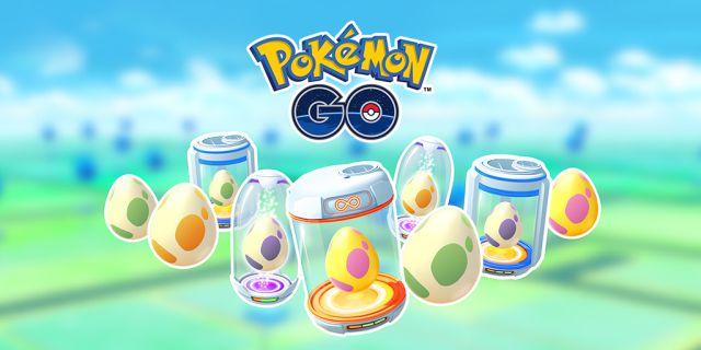Pokémon GO: tous les œufs de 2, 5, 7, 10 et 12 km (avril 2021)