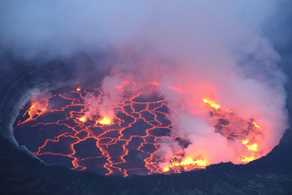 Volcan Nyiragongo
