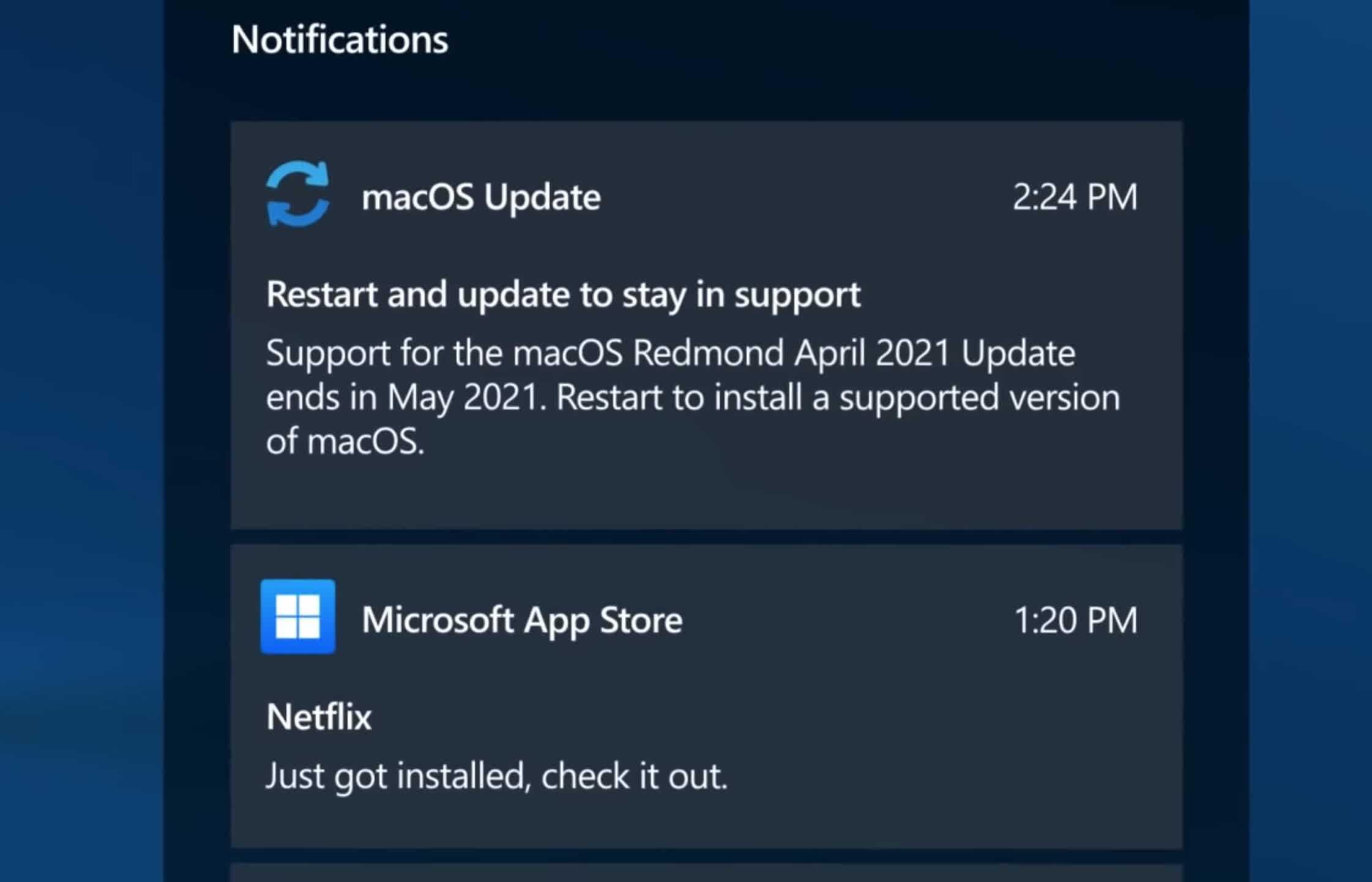 Presentation de macOS Redmond un systeme dexploitation concu par Microsoft