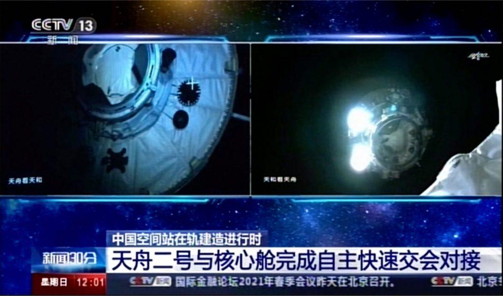 Des astronautes au service du gouvernement chinois se rendront à la station spatiale Tianhe en juin