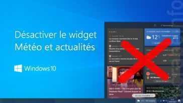 Comment Supprimer Le Widget Meteo De La Barre Des Taches De Windows 10
