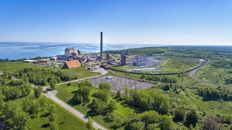 Vue aérienne du site.  Crédits: JamesNeiss.com