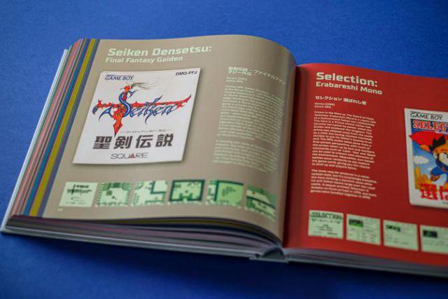Game Boy The Box Art Collection, rappelant le légendaire ordinateur portable de Nintendo