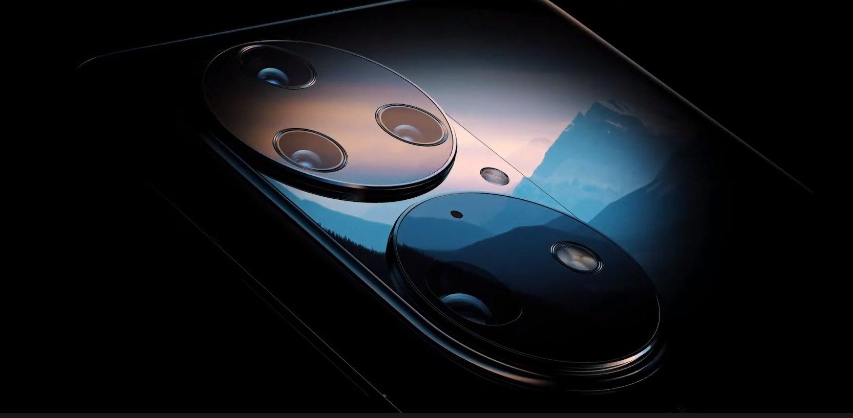 Huawei P50, appareils photo